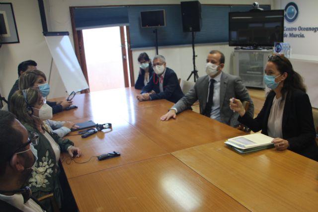 Visitación Martínez transmite al comisario europeo de Medio Ambiente la necesidad de actuar de manera urgente en el Mar Menor - 1, Foto 1