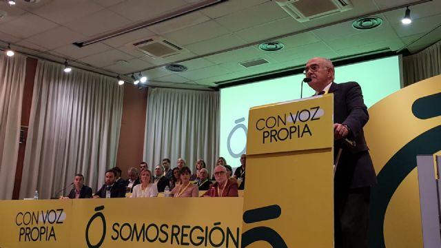 Alberto Garre elegido por aclamaci�n presidente de Somos Regi�n, Foto 1