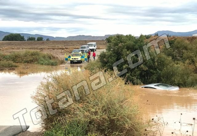 The yellow alert is activated in the Region of Murcia for tomorrow Tuesday due to the forecast of heavy rains