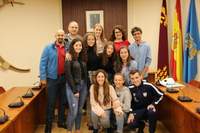 Alhama recibe a un grupo de alumnos de intercambio franceses, Foto 1