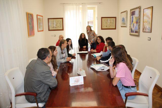 Alhama recibe a un grupo de alumnos de intercambio franceses, Foto 2