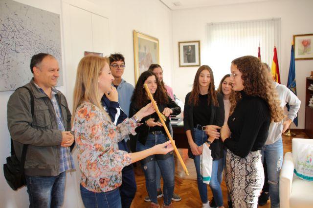 Alhama recibe a un grupo de alumnos de intercambio franceses, Foto 3