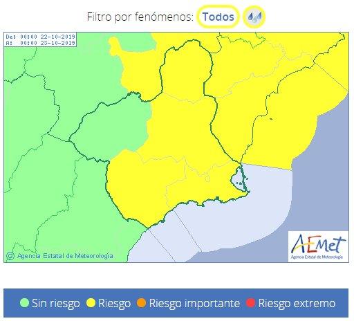 Otra DANA nos va a afectar, pero esta vez no provocar� lluvias torrenciales en el sureste, seg�n Protecci�n Civil de Totana, Foto 3