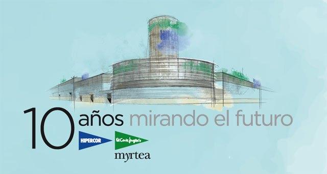 El Corte Inglés del Centro Comercial Myrtea celebra su 10° aniversario, Foto 1