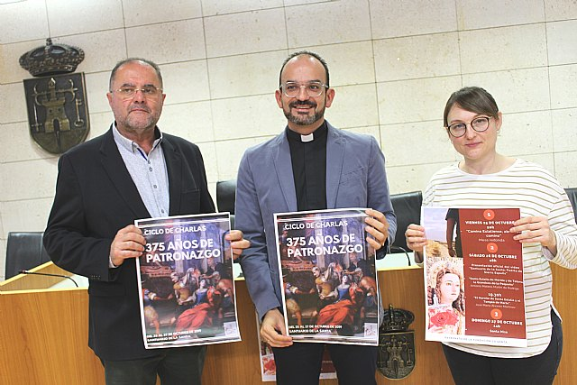 La Fundaci�n La Santa organiza un ciclo de ponencias para conmemorar el 375 aniversario del Patronazgo de Santa Eulalia en Totana, Foto 1
