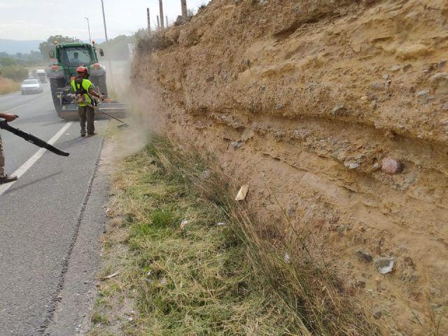 Fomento acondiciona los márgenes del tramo de la N-344 de competencia municipal que une Murcia con Las Torres de Cotillas - 1, Foto 1