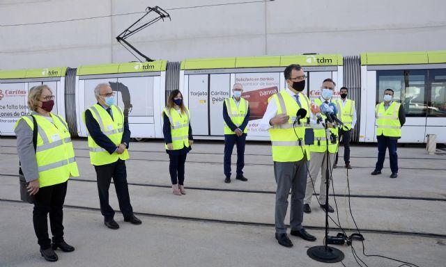 Los controles periódicos para la detección de trazas de Covid-19 confirman la seguridad del tranvía - 3, Foto 3