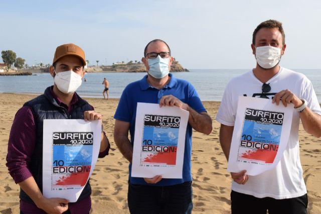 El Surfito Bahía de Mazarrón cumple su décima edición con un alto número de participantes - 1, Foto 1