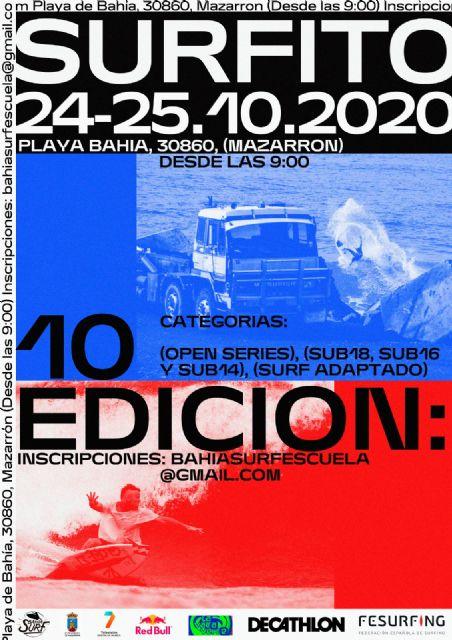 El Surfito Bahía de Mazarrón cumple su décima edición con un alto número de participantes - 2, Foto 2