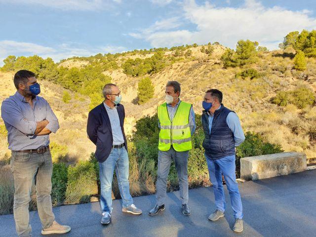 Finalizada la obra de paso de agua de la carretera de Pliego a Casas Nuevas - 1, Foto 1