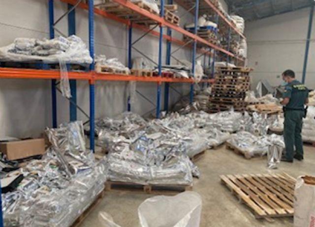 La Guardia Civil inmoviliza cerca de seis toneladas de  pienso  animal por carecer de registro sanitario - 1, Foto 1