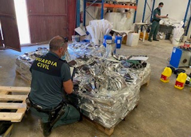 La Guardia Civil inmoviliza cerca de seis toneladas de  pienso  animal por carecer de registro sanitario - 2, Foto 2