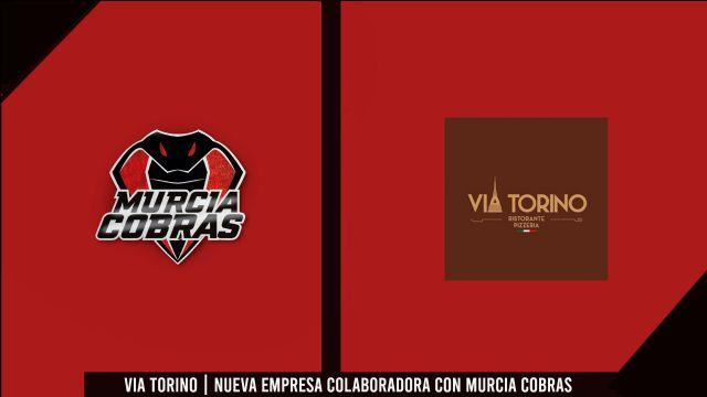 VIA TORINO, nueva empresa colaboradora con Murcia Cobras - 1, Foto 1