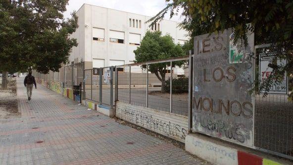El PCAN denuncia un nuevo retraso en la ampliación del IES Los Molinos - 1, Foto 1