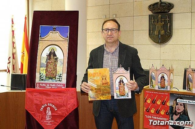 Presentation of the Fiestas de Santa Eulalia 2017 program