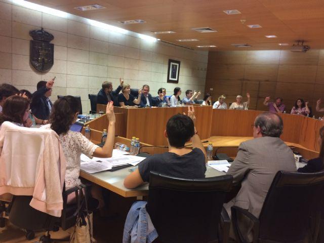 El Pleno debate mañana la moción conjunta de los tres grupos municipales y el edil no adscrito sobre apoyo al sector agrícola y sostenibilidad del acueducto Tajo-Segura