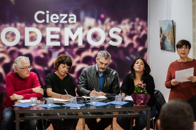 Acto de campaña de Primarias Podemos Región de Murcia en la Sede de Podemos Cieza - 1, Foto 1
