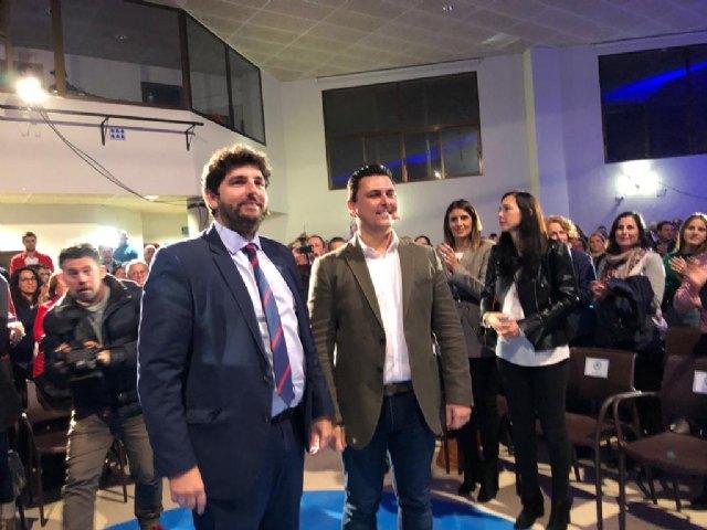 López Miras respalda la candidatura de José Miguel Luengo a la alcaldía de San Javier - 3, Foto 3