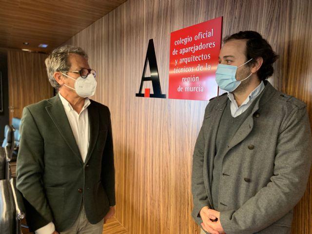 El nuevo modelo de la arquitectura y construcción sostenible impulsará la actividad de los aparejadores de la Región de Murcia, Foto 1