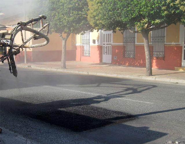 Un plan municipal arreglará cerca de 900 m2 de baches en el núcleo urbano y pedanías - 1, Foto 1