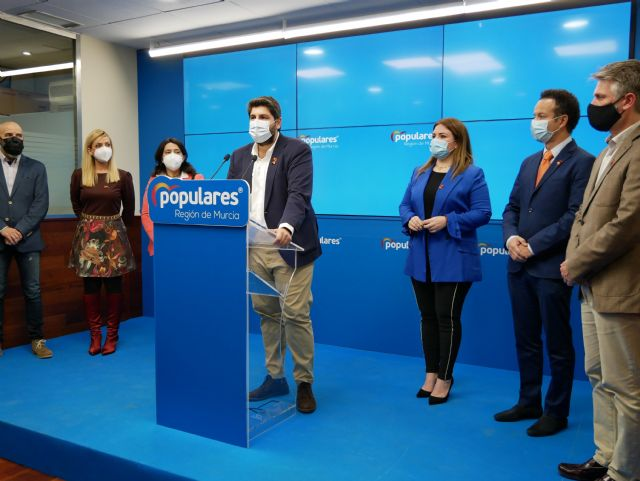 López Miras: The Education law was born with the aim of being repealed as soon as the government changes due to its lack of consensus, Foto 1