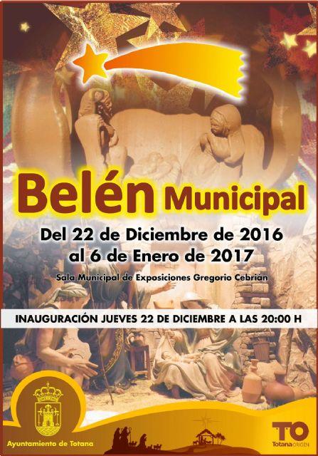 El Belén Municipal y la exposición Alfareros de Totana se inaugura este jueves - 1, Foto 1