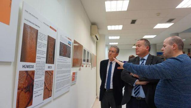 La exposición de Daniel Aragón sobre las minas de Mazarrón inaugura la nueva sala cultural de la Delegación del Gobierno en Murcia, Foto 1