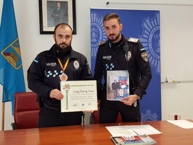 El agente Sergio Martínez consigue el primer puesto en el Curso de Entrenador Nacional nivel 1 y Defensa Personal Policial, Foto 1