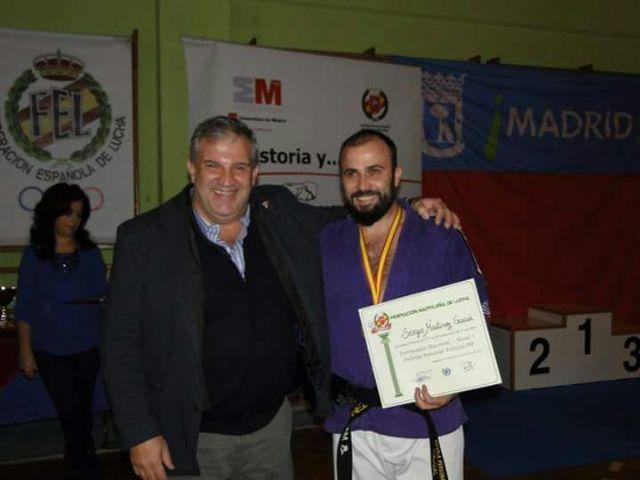 El agente Sergio Martínez consigue el primer puesto en el Curso de Entrenador Nacional nivel 1 y Defensa Personal Policial, Foto 2