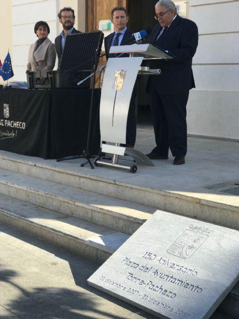 El Ayuntamiento de Torre-Pacheco clausura los actos con motivo del 150 aniversario de la Plaza del Ayuntamiento - 3, Foto 3