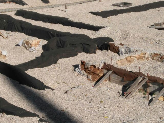 Huermur solicita a Cultura y al Ayuntamiento reparaciones urgentes del geotextil de San Esteban - 3, Foto 3