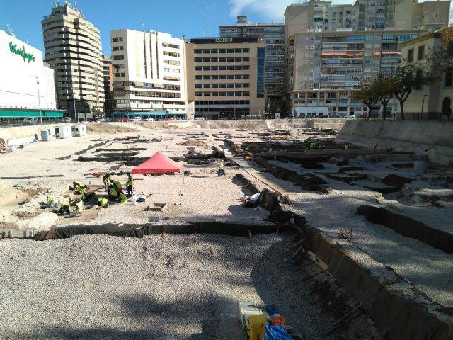 Huermur solicita a Cultura y al Ayuntamiento reparaciones urgentes del geotextil de San Esteban - 5, Foto 5
