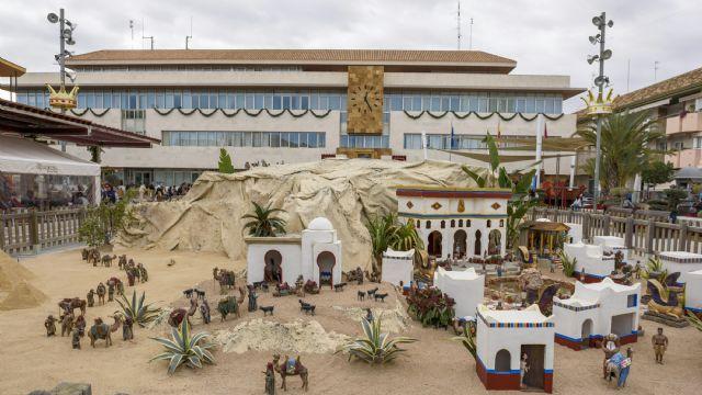 El Belén más grande de Europa se despliega un año más en la plaza de España de San Javier - 1, Foto 1