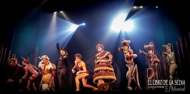 El musical EL LIBRO DE LA SELVA. LA AVENTURA DE MOWGLI llega al Teatro Villa de Molina el miércoles 26 de diciembre - 1, Foto 1