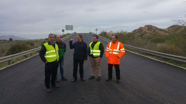 Se abre al tráfico la carretera que conecta Zeneta con la autovía Santomera-San Javier - 1, Foto 1
