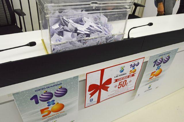 Los 5.000 euros en premios de las compras navideñas de Las Torres de Cotillas ya tienen dueños - 3, Foto 3