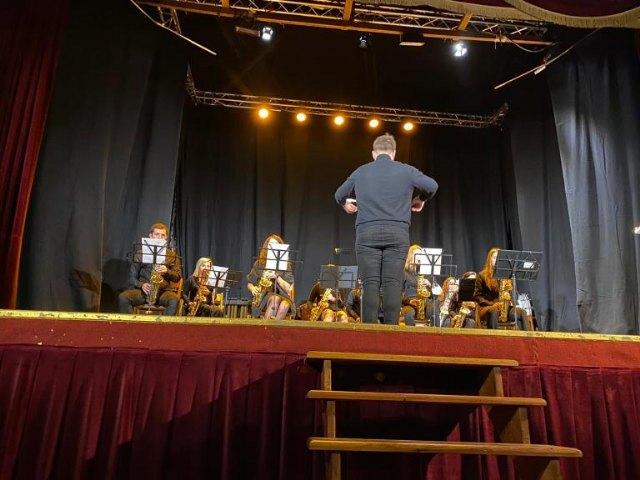 El Teatro Lope de Vega acoge el tradicional concierto de Navidad de la Agrupación Musical Muleña - 1, Foto 1