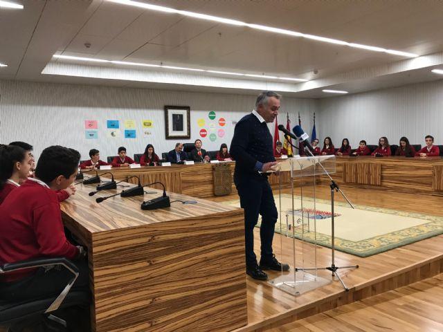 29 alumnos de 1º ESO del Centro Concertado Virgen del Pasico de Torre-Pacheco constituyen una cooperativa para recaudar fondos para su viaje de estudios - 1, Foto 1
