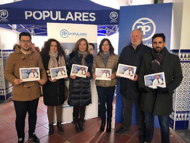 El PP acerca a los vecinos de Jumilla y Alhama los presupuestos regionales de 2019, Foto 1