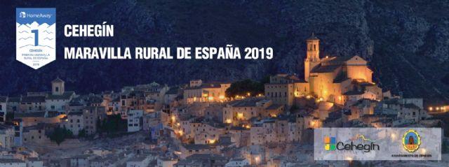 Cehegín promocionará en Fitur todo el patrimonio histórico, natural patrimonial y gastronómico  que le ha llevado a ser Primera Maravilla Rural de España - 1, Foto 1