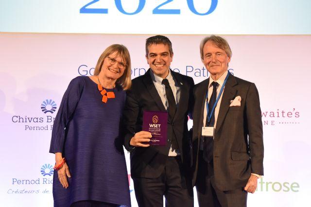 Ferran Centelles recibe el Outstanding Alumni Award de la escuela Wine & Spirits Education Trust - 1, Foto 1