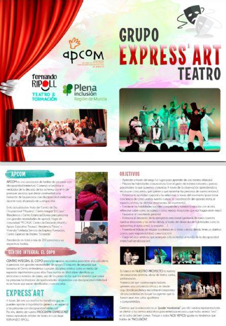 Teatro inclusivo en la programación del Auditorio Municipal de Calasparra - 1, Foto 1
