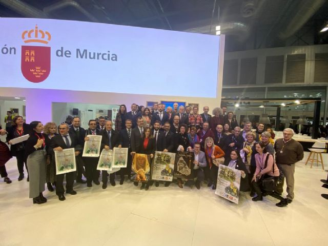 Murcia, Cartagena, Lorca y Jumilla exhiben el potencial turístico internacional de la Semana Santa de sus municipios en Fitur - 1, Foto 1