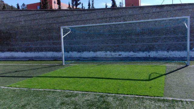 El Ayuntamiento de Pliego ha realizado mejoras en el césped, vestuarios e iluminación del campo de fútbol - 2, Foto 2