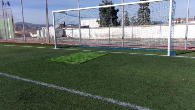 El Ayuntamiento de Pliego ha realizado mejoras en el césped, vestuarios e iluminación del campo de fútbol - 5, Foto 5