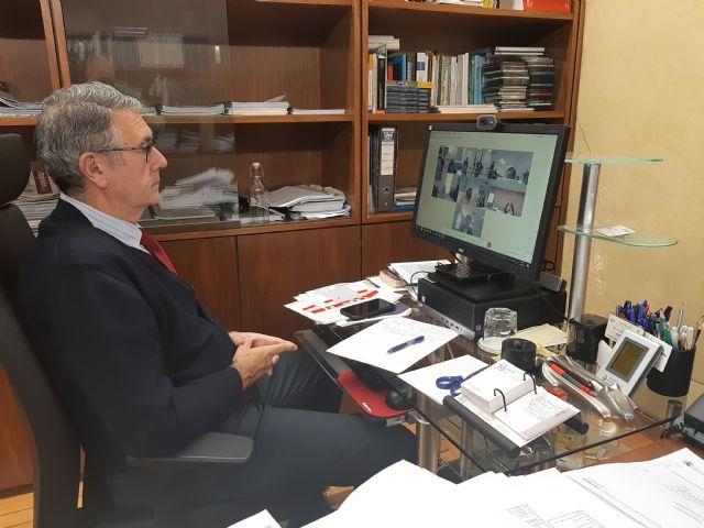 El presidente de la CHS participa en el foro interadministrativo del Mar Menor - 1, Foto 1