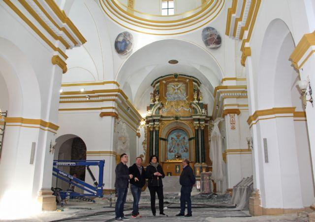 En marcha las obras de mejora en la Iglesia Parroquial Nuestra Señora del Rosario de Puerto Lumbreras - 1, Foto 1