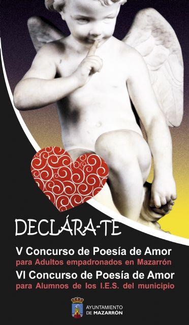 Cerca de 80 poesías aspiran a ser premiadas en una nueva edición del certamen declárate - 1, Foto 1