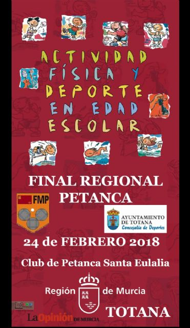 The Regional Final of School Sports Petanque will take place this Saturday, Foto 1