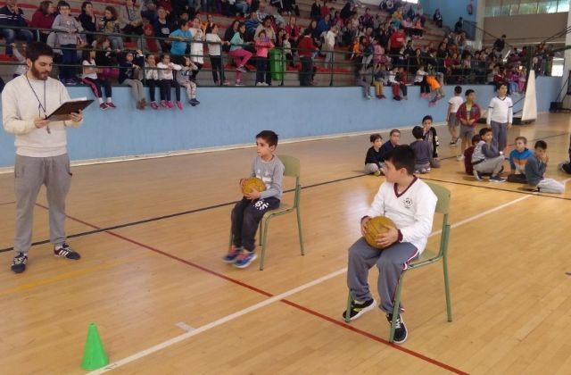 "A total of 145 students participated in the Local Phase of ""Playing Athletics benjamin"" of School Sports"